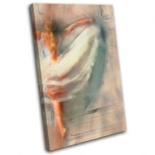 Ballerina Digi-Painting Abstract - 13-6054(00B)-SG32-PO